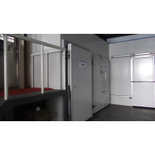 Low Price 45kg Density B2 Fire Retardant Camara frigorifica Sandwich Insulation Panels Cold Room PU Board Price