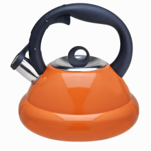 Stainless steel coffee stovetop tea kettle orange