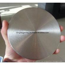 Disco redondo de tungsteno de disco redondo de molibdeno