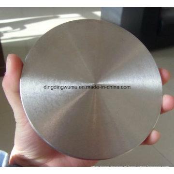Disco redondo do tungstênio do disco redondo do molibdênio
