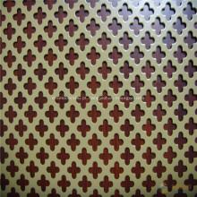 Malha perfurada do metal do furo redondo de aço inoxidável