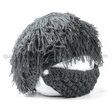 Custom Creative Children Kids Viking Beard Knitted Hat