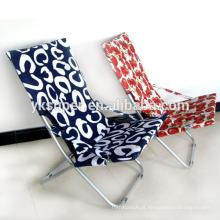 Móveis ao ar livre Beach Sun Lounger Folding Metal Chair / Beach Chair