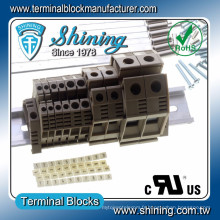 TF-4 UL Apported 35A 4mm Entrelec Feed Through Terminal Connector