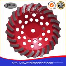 175mm Diamant-Rad mit Strudel-Typ
