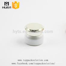 pots en verre blancs cosmétiques de crème de luxe de l'oeil 20ml à vendre
