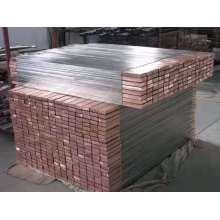 Titanium Clad Copper Rod Titanium Bar for Electrode