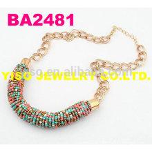 Collier en forme de perles
