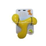 EVA Boomerange dog Toy, squeaky pet dog toy for professional training
