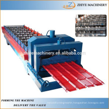 glazed tile production line/glazing steel roofing sheet roll forming machine
