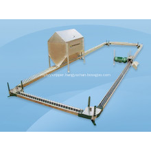 Breeder chain feeding System