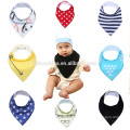 best drool bibs with snaps soft natural cotton printing bib cotton baby bandana drool bibs