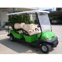 Chariot de golf pour véhicule électrique à siège avant 4 places Plus 2