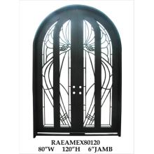 Les meilleures portes d'entrée en fer fabriquées à la main