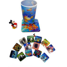 2015 Promotional Lenticular Coaster for Cups