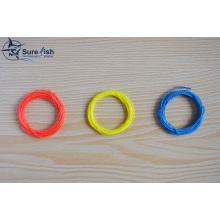 Многоцветная цвет свёрнутый летать рыбалка Tenkara конические линии