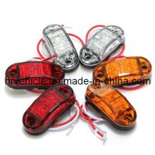 DOT / SAE / Emark светодиодные боковые габаритные огни для грузового автомобиля