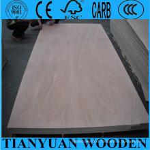 Preços da madeira compensada de Okoume de 8mm / 9mm / de 10mm, madeira compensada comercial