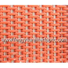 Tecido de filtro - malha de tintureiro tecida - fio liso