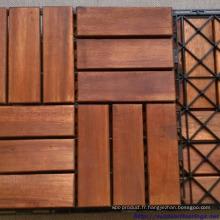 Tuiles de plancher fabriquées 300 x 300 x 24 mm