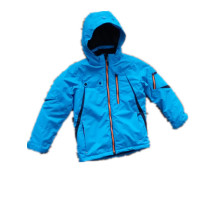 Sealant Hooded Rain Jacket/Raincoat for Children