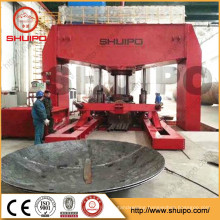 2015 SHUIPO New Product Dished Head Pressing Machine for Storage Tank Elliptical Dished Head