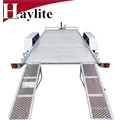 Полностью Гальванизированный Тандемный плоская палуба прицеп полностью Сварной конструкции для продажи