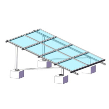 Система крепления на плоской крыше