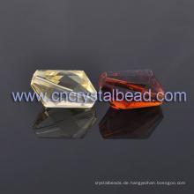 Großhandel große bunte Crystal Maschine geschliffenem Glas Beads für Schmuckzubehör in loser Schüttung