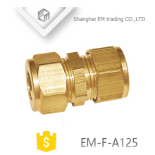 EM-F-A125 coupling brass quick cooper female thread pipe connector