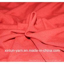 Tela de algodón suave de la tela cruzada para el vestido del deporte de la guarnición / de la ropa interior