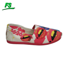 hot sale hand painted canvas shoes for girl,stylish canvas shoes girls