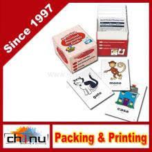 Gedruckte benutzerdefinierte Werbung Spielkarten (430021)