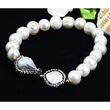 Оптовые ювелирные изделия браслета перлы способа
