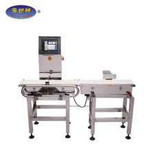 Seafood Fish Automatic Check Weigher With Touch Screen Weight Checker for Packaged Food