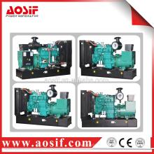 250kva generador portátil con cummins motor diesel del grupo electrógeno