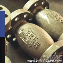 Осевой Тип cf8/шариковый клапан cf8m вафли и фланцевые обратный клапан