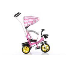 Steel Frame Child Tricycle with EVA Tyre