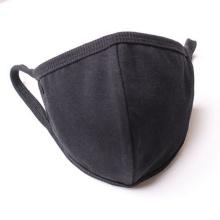 Washable Face Mask Black Reusable Cotton Face Mask