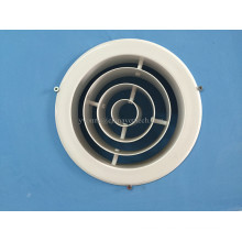 Difusor de chorro de aluminio de difusor de aire circular de alta calidad