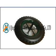 14 * 3.50-8 pneu en PU solide avec couleur de rayon fabriqué en Chine