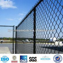 Revêtement en PVC Chain Line Fence / PVC enduite de fil de diamant