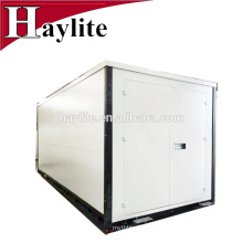 Folding foldable storage container moveable flat pack warehouse