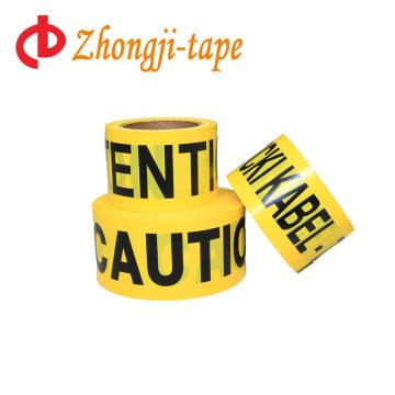 Nouveau ruban adhésif à la barricade jaune