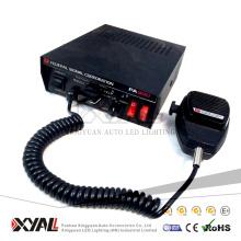 Alta calidad 12 V Factor de distorsión bajo 100 W / 150 W Federal Signal Corporation PA300 Alarma de sirena de advertencia de emergencia para el altavoz