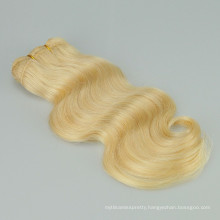 Supplier remy hair color 613 blonde body wave hair weave human hair