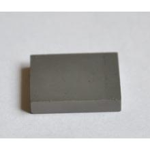 Placas retangulares resistentes do desgaste do prato do carboneto cimentado