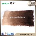 En gros de haute qualité longs cheveux Tibétain mongol agneau plaque de fourrure