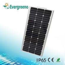 Luz de calle / luz de jardín solar todo en uno - Aplicación de energía solar