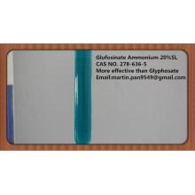 Large spectre, herbicide efficace Glufosinate-ammonium 20% SL, CAS - 77182-82-2